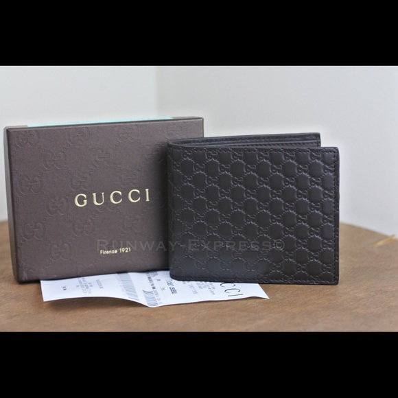 acc24affca4 Short Dark Brown Mens Gucci Wallet